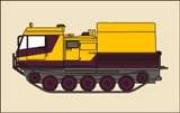 Гусеничный плавающий вездеход ЧЕТРА V20 (ТМ-120)